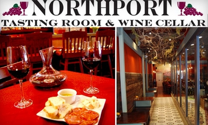 Northport Tasting Room & Wine Cellar - Northport: $8 for $20 Worth of Tapas and Wine at Northport Tasting Room & Wine Cellar