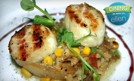 $50 Groupon to The Oar Steak & Seafood Grill - The Oar Steak & Seafood Grill in Patchogue