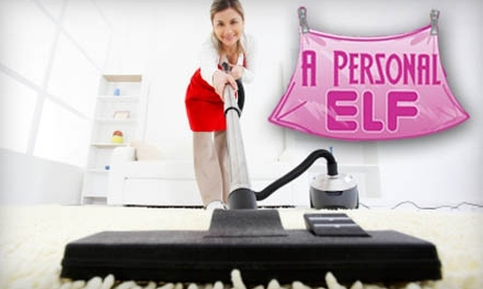 A Personal Elf - Gainesville: $70 for Two Hours of Home Cleaning by Two Professionals From A Personal Elf ($140 Value)