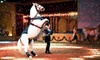 The Dancing Horses Theatre - Delavan: $17 for Admission to a Dancing-Horse and Exotic-Bird Show at The Dancing Horses Theatre in Delavan, WI ($35 Value)