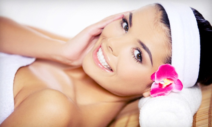 La Vita Bella - Center City East: Spa Package for One or Couples Spa Package with Massage or Facial and Hand and Foot Treatment at La Vita Bella (Up to 64% Off)