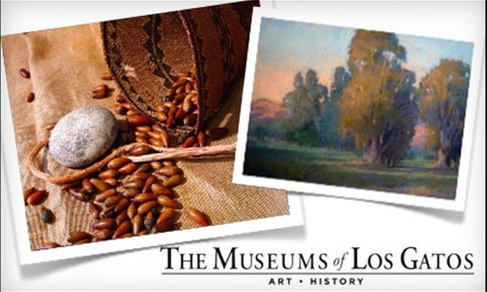 Museums of Los Gatos - Multiple Locations: $15 for Individual Membership (Up to $35 Value) or $25 for Family Membership ($50 Value) to Museums of Los Gatos