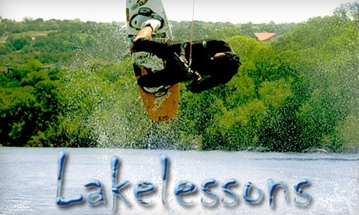 Lake Lessons - Austin: $68 for 1.5-Hour Watersport Lesson from Lake Lessons