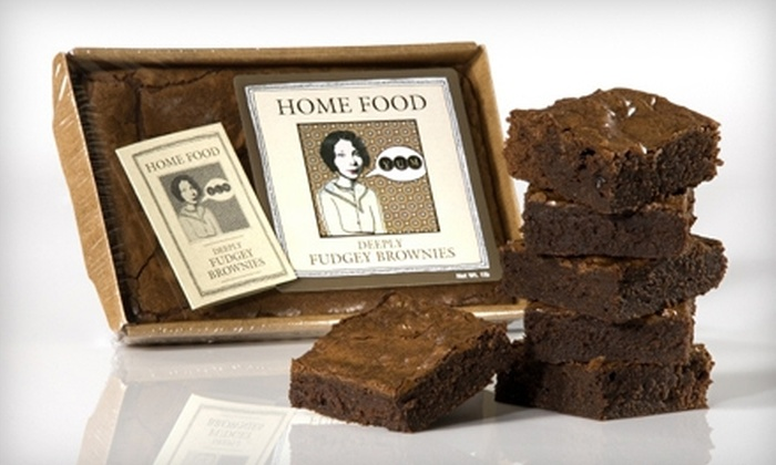 Moveable Feast - Geneva: $7 for One-Pound Deeply Fudgey Brownie Tray at Moveable Feast in Geneva ($15 Value)
