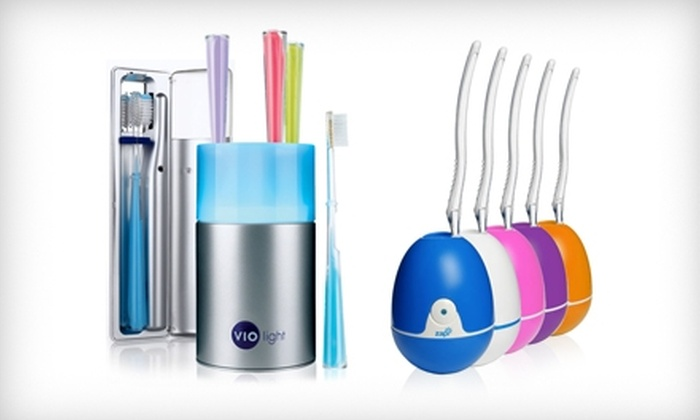 Violight: $20 for $40 Worth of UV Toothbrush-Sanitizing Products from Violight