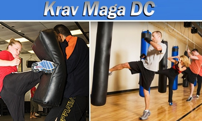 Krav Maga DC - Washington DC: $19 for 3 Monkey Bar Gym or Krav Maga Classes at KMDC