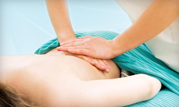 Thrive Healing Arts Studio - Corte Madera: Chiropractic Massage with Optional Stress-Analysis Scan and Exam at Orcutt Chiropractic in Corte Madera (Up to 78% Off)