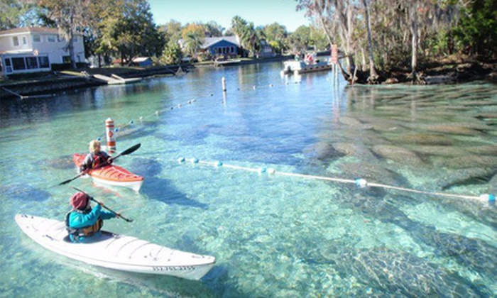 Crystal River Kayak Company - Crystal River: Two-Hour Kayak Rental for One or Up to Four or Half-Day Rental for One or Up to Four from Crystal River Kayak Company
