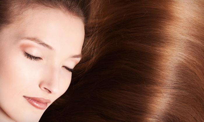 A Day Away Salon and Spa - Perry: $99 for a Global Keratin Smoothing-System Application at A Day Away Salon and Spa ($300 Value)