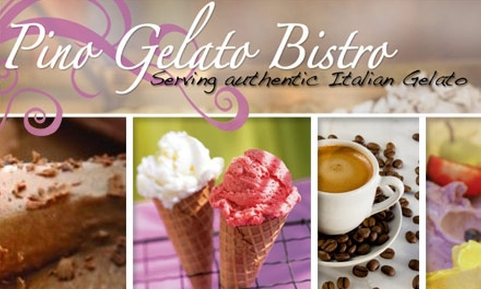 Pino Gelato - Dublin: $5 for $12 Worth of Gelato, Pizza Cones, and Other Italian Treats at Pino Gelato
