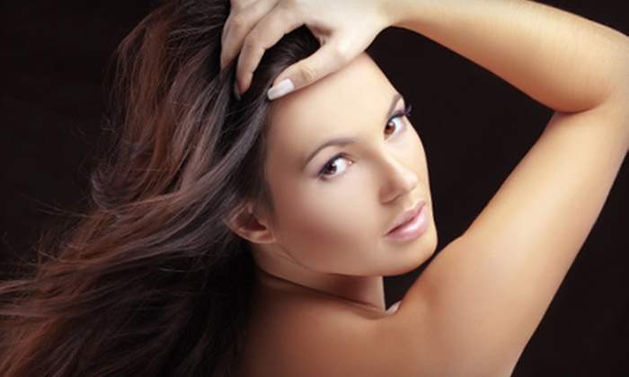 Marjon the Salon - Gulf Gate: Spa Day or Mani-Pedi Package at Marjon the Salon in Sarasota (Up to 65% Off)