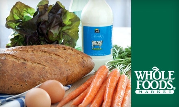 Whole Foods Market - Central Omaha: $15 for $30 Worth of Natural and Organic Groceries at Whole Foods Market