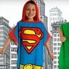 53% Off a Superhero Bath Wrap