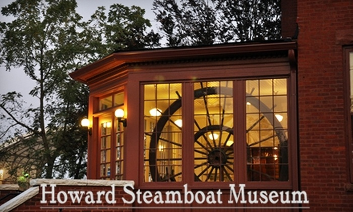 Howard Steamboat Museum - Jeffersonville: $4 for Two Adult Admission Tickets to the Howard Steamboat Museum in Jeffersonville ($10 Value)
