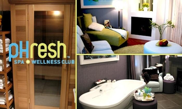 pHresh Spa + Wellness Club - West End: pHresh Complete Retreat Package at pHresh Spa + Wellness Club. Choose from Two Options.