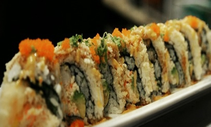 Geisha Sushi Bistro - Central Business District: $25 for $50 Worth of Japanese Cuisine at Geisha Sushi Bistro