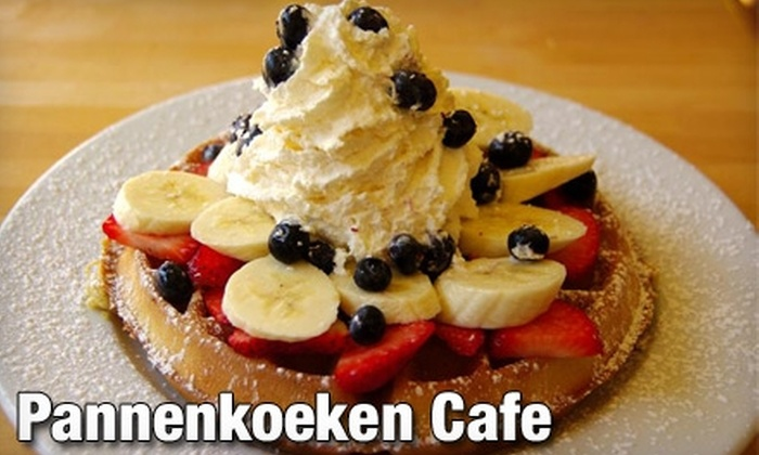 Pannenkoeken Cafe - Ravenswood: $10 for $20 Worth of Dutch Pancakes and More from Pannenkoeken Cafe
