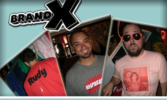 Brand X Custom T-Shirts - Downtown Tempe: $15 for $35 Worth of Customized T-Shirt Services at Brand X Custom T-Shirts