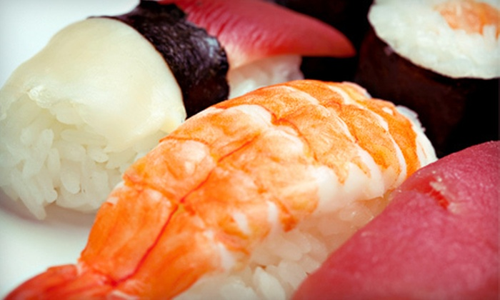 Aki Sushi - S.r. Marmon: $12 for $25 Worth of Sushi and Drinks at Aki Sushi