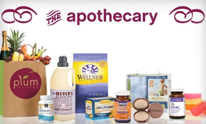 Plum Market - Multiple Locations: $15 for $30 Worth of Vitamins, Supplements, and Natural Body Care from the Apothecary at Plum Market. Choose from Three Locations.