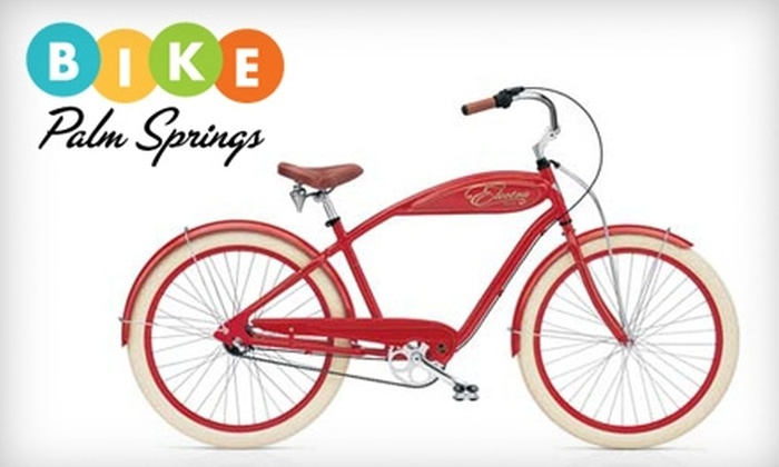 Bike Palm Springs - Uptown Palm Springs: Bike Rentals at Bike Palm Springs (Up to $50 Value). Choose from Three Riding Options.