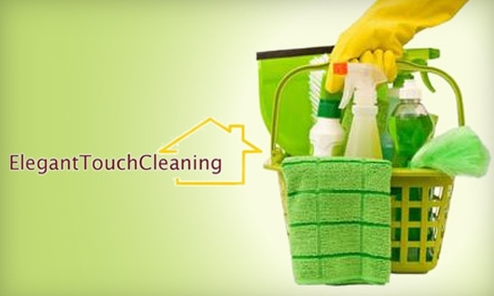 Elegant Touch Cleaning - Potomac: $84 for Three Man-Hours of On-Site Housecleaning from Elegant Touch Cleaning ($175 Value)