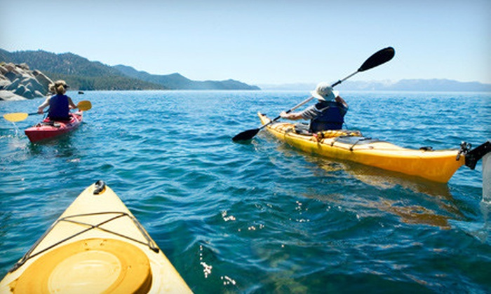 Adventures by the Sea - Multiple Locations: Choice of Kayak, Paddleboard, or Bike Rentals from Adventures by the Sea in Monterey (Half Off). Two Options Available.