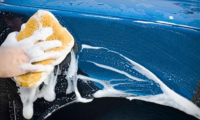 Great American Car Wash - Fresno: One Car Wash or Waxing Services and a 30-Day Car-Wash Pass at Great American Car Wash