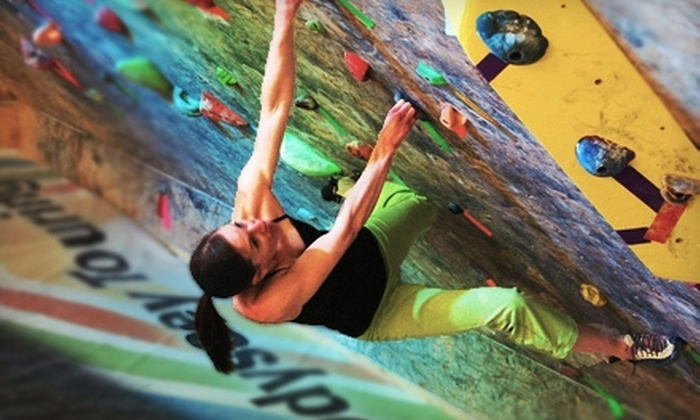 Denver Bouldering Club - Valverde: $17 for an Introduction to Climbing Workshop and a Guest Pass at Denver Bouldering Club ($45 Value)