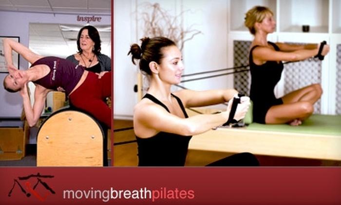 Moving Breath Pilates - Tempe: $20 for Three Pilates Classes at Moving Breath Pilates