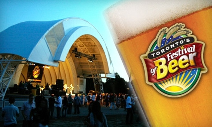 Festival of Beer - Toronto: $25 Admission to Toronto's Festival of Beer (Up to $59.14 Value). Choose from Three Dates.