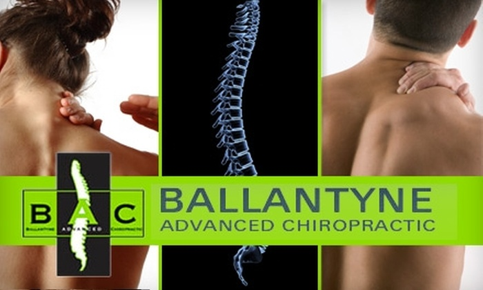 Ballantyne Advanced Chiropractic - Ballantyne East: $59 for an Exam, Adjustment, X-Rays, and Massage at Ballantyne Advanced Chiropractic