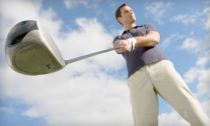 Oasis Greens Golf Centre - Calgary: $20 for Four Large Buckets of Driving-Range Balls at Oasis Greens Golf Centre ($56 Value)