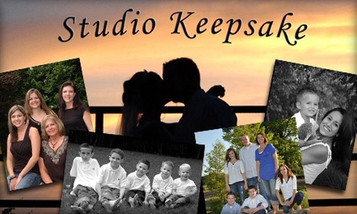 "Studio Keepsake - Indian Springs Estates: $49 for a One-Hour Photography Session, One 8""x10"" Print, and Six High-Resolution, Edited Image Files from Studio Keepsake ($125 Value)"