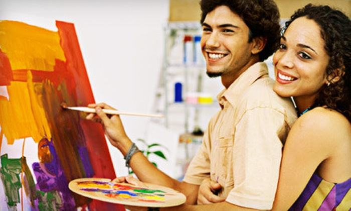 Modern Edge Center for the Arts - South Fitchburg: BYOB Art Class for One, Two, or Four at Modern Edge Center for the Arts in Leominster (Up to 63% Off)