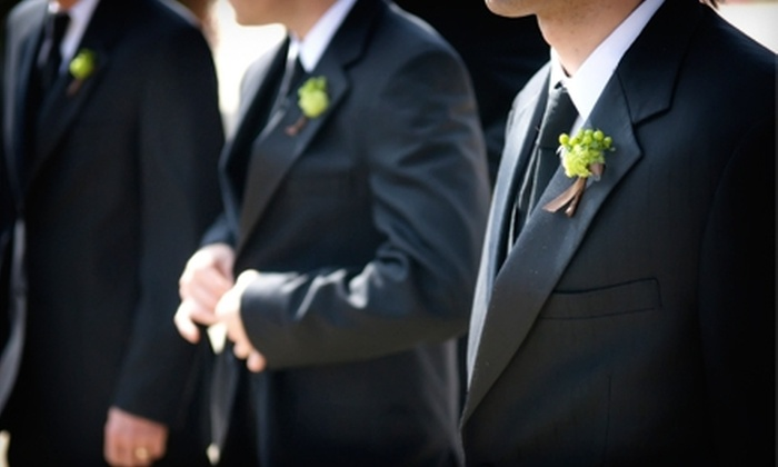 J.P. Tuxedo Warehouse - Oak Forest: $550 for a Complete Tuxedo Package at J.P. Tuxedo Warehouse in Oak Forest ($1,100 Value)