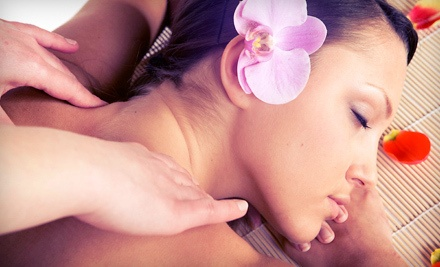 60-Minute Therapeutic Massage ($85 value) with Aromatherapy (a $10 value; a $95 total value) - Amanda Moore, LMP in Hoboken