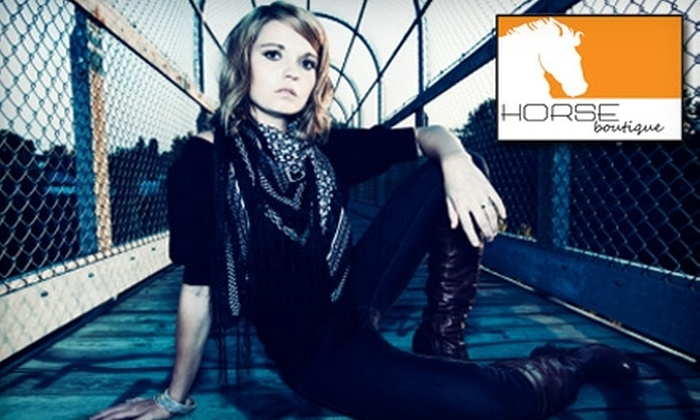 Horse Boutique - Annapolis: $45 for $100 Worth of Designer Apparel at Horse Boutique in Annapolis