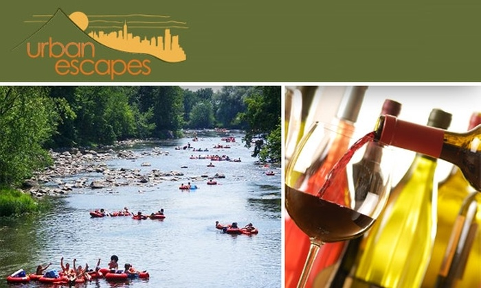 Urban Escapes - New York City: One-of-a-Kind Tubing, Wine Tasting, and Vineyard Excursion with Urban Escape: Buy Here for 8/23, See Below for 8/9 Tickets