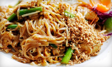 $40 Groupon for Dinner - California Thai Kitchen in Chino