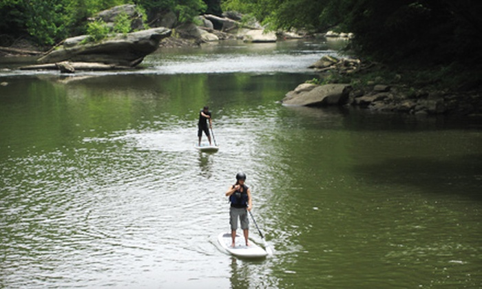SurfSUP Adventures - Sarver: $99 for a Guided Two-Hour Standup Paddleboard Tour for Up to Four from SurfSUP Adventures in Sarver (Up to $260 Value)