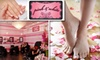 Pink and White Nail Salon - Downtown: $25 for a Luxurious Mani-Pedi Colada at Pink and White Nail Salon ($55 Value)