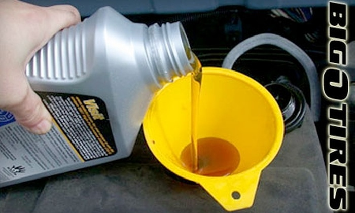 Big O Tires - Mesa: $44 for a Five Oil-Change Punch Card at Big O Tires in Mesa ($89 Value)