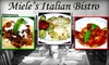 Miele's Italian Bistro - Optimist Park SW: $20 for $40 Worth of Italian Cuisine and Drinks at Miele's Italian Bistro