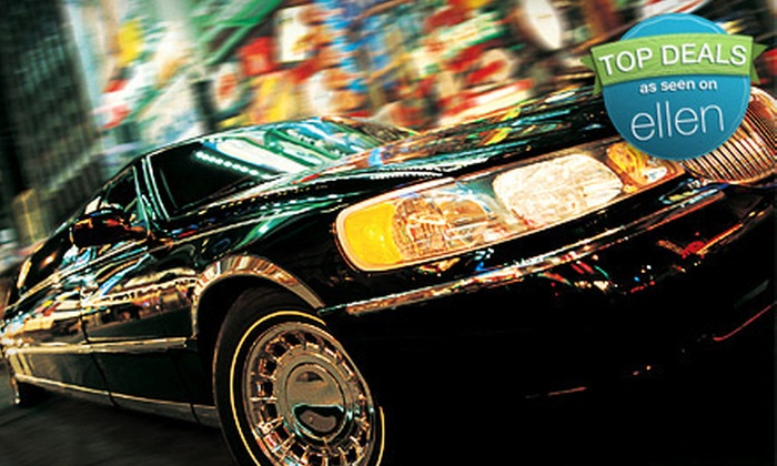 Luxury Limousine Service - Country Club Plaza: $132 for a 90-Minute City-Lights Limousine Tour for Up to 10 People from Luxury Limousine Service (Up to $270 Value)
