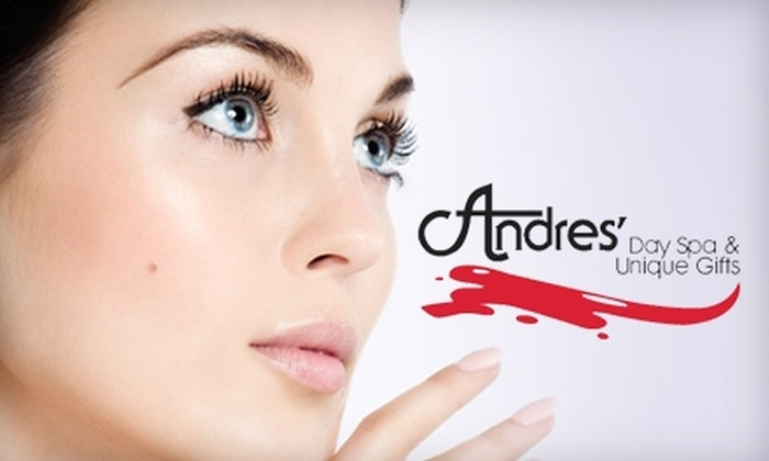 Andres' Day Spa and Unique Gifts  - Tuckahoe: $42 for a Signature Facial or a Gel-Polish Manicure and Paraffin Pedicure at Andres' Day Spa and Unique Gifts
