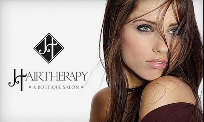 Hairtherapy - Hoover: $25 for $50 Worth of Hair Services, a Complimentary Clear Gloss Treatment, and 10% Off Products at Hairtherapy