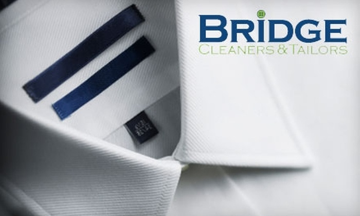 Bridge Cleaners & Tailors - Downtown Brooklyn: $20 for $40 Worth of Dry-Cleaning Services at Bridge Cleaners & Tailors