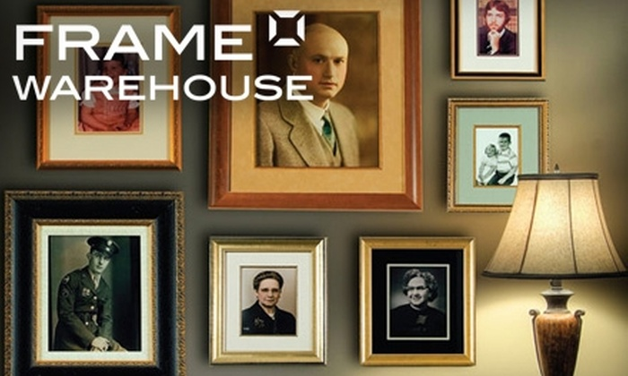 Frame Warehouse - Greensboro: $40 for $100 Worth of Framing Services at Frame Warehouse