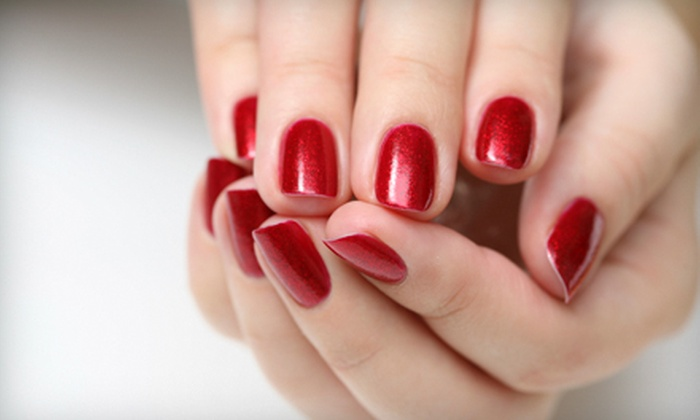 Perfectly Polished Nails at Fringe Salon - Whitefish Bay: $35 for Two Shellac or Gelish Manicures at Perfectly Polished Nails in Whitefish Bay ($70 Value)